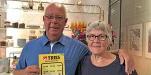 Ulf och Birgitta Tvärne gästade Nyhetsmorgon i TV4. Foto: Svenska Spel
