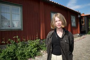 Stipendiet på 50 000 kronor fick också Saga Wallander att upptäcka Lars Gustafssons rika författarskap.