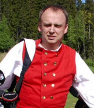Henrik Spånberg, omvald som ordförande för Malungs Golfklubb. Foto: DT Arkiv