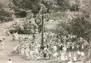 Skantzen i Hallstahammar 1989. Foto: VLT;s arkiv
