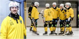 Robert Rimgård var tillbaka på isen när Broberg vann söndagens genrep mot Sirius med 3–1.