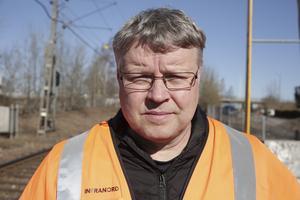 Det är viss risk för att närboende kommer att störas av arbetena som kommer att ske nattetid, förmodar Tommy Sundin.