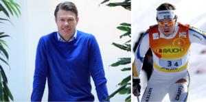 Mathias Fredrikssons nya liv handlar också om längdskidåkning och då som expertkommentator på SVT. Han har även varit inblandad i Ski tour 2020. Fotomontage: Hans Andersson/TT
