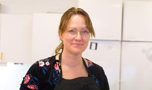 Läraren Angelica Ström är imponerad av viljan och intresset från sina elever. Hon menar att alla har potential att bli bra inom yrket.