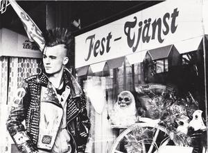 Punkbandet TST. Bild: Kjell-Åke Jansson