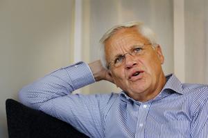 Hans Selling, ordförande i GIF Sundsvall. Bild: Sofie Wiklund.