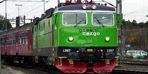 Green Cargo kommer att utreda händelsen i Ånge. Foto: Arkivbild