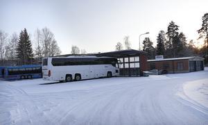 Bussgaraget i Kopparberg ska stängas. Likaså bussgaraget i Frövi.