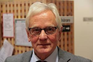 Allan Cederborg (M) är utbildningsnämndens ordförande.