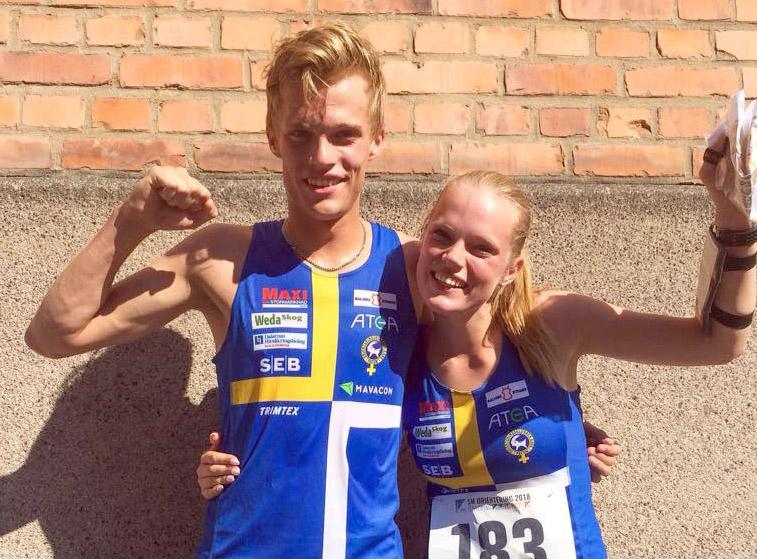 Stark svensk start i par vm