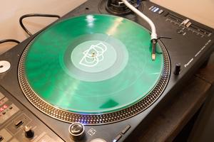 - Vinyler kan vara vackra att se på, konstaterar Anna Öström.