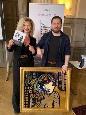 Michael Saliba bjöd in konstnären Mercedes Murat som gästföreläsare.