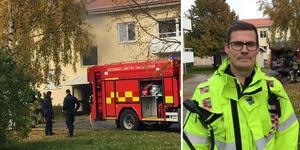 Brand i ett elskåp ledde till kraftig rökutveckling i en lägenhet i Själevad under onsdagen.