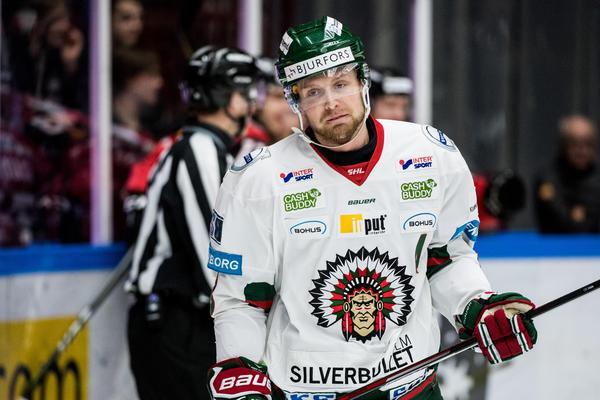 Kristoffer Gunnarsson, Frölunda. Foto: Petter Arvidson / Bildbyrån