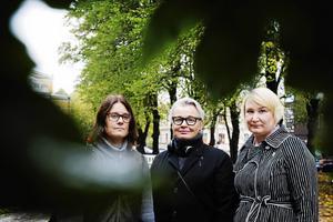 Malin Rogström, Camilla Wengelin och Elin Lundgren.