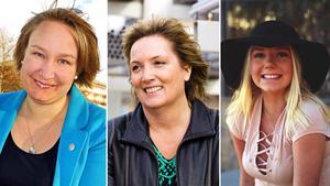 Elin Lundgren, Petra Einarsson och Linn Ahlborg är några av toppnamnen på listan. Bild: Arkiv