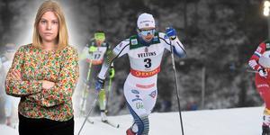 Stina Nilsson blev 10:e under dagens masstart och bästa svenska. Bilden är ett montage.
