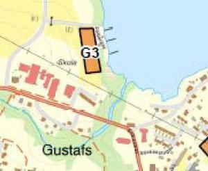 Området mellan Enbacka skola och båthamnen kan inom några år bebyggas med nya bostadsrätter.
