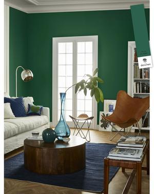 Gröna färgen Classy från Caperol. Foto: Pressbild.