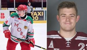 Kevin Jågas Hansson och Max Pernhem är klara för Köping Hockey. Foto: Köping Hockeys hemsida.