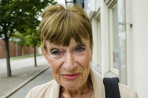 Britt-Marie Sandberg, 80 år, pensionär, Sundsvall.