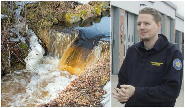 Daniel Lundin, brandingenjör på Södra Dalarnas räddningstjänstförbund. Foto: Lova Jappevik / Robin Högberg/arkiv