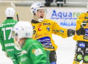 Martin Söderberg fick måljubla sex gånger om i matchen mot Sirius på söndagen.