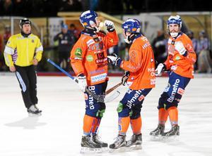 Christian Mickelsson räddade Bollnäs med ett sent straffmål.