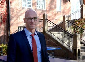 Pascal Brisson, rektor Engelska skolan.Foto: Mathilda Gustafsson