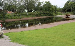 Bara älvvatten säkrar vattenkvaliteten i Holmenbadet