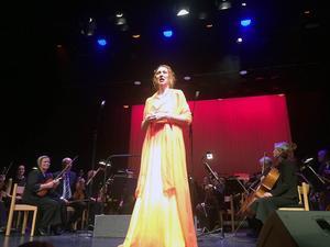 Erika Sax från Storvik förstärkte Divine.