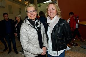 Carina Harlin och Anna Maxén från Bergeforsen.