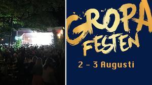 Gropafesten bjuder på dans och musik under fredag och lördag.
