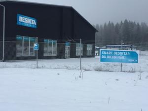Senare i januari väntas nya bilbesiktningen i Ludvika öppna. Besikta Bilprovning hyr lokaler av Carnila.