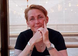 Camilla Eriksson semestrar med familjen i Rhodos. I natt, vid halv två lokal tid, vaknade hon av att sängen gungade. Foto: Privat