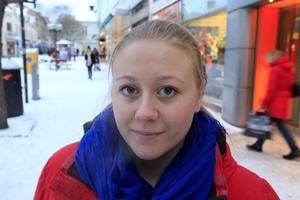 Serena Brandt, Östersund. – Ja, litegrann. Man tänker mer på det när det kommer upp i debatten. Vanliga tjejer ser inte ut som de i reklamen.