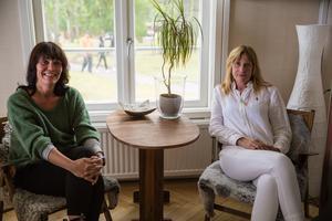 Åsa Sternrot och Lena Lago tycker det är spännande att jobba för Basta, som fortsätter utvecklas med åren.