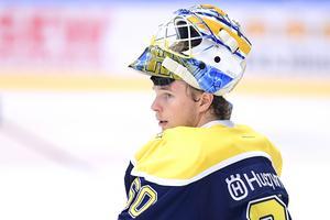 HV71:s talangfulle målvakt Hugo Alnefelt är uttagen i Juniorkronornas trupp till en fyrnationsturnering i Finland.