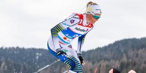 Frida Karlsson missar världscupen i Falun.