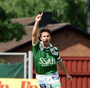 Bernhard Brcic från sin tid som spelare i IK Brage.