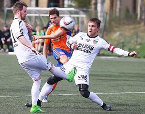 Simon Sigvardsson gjorde mycket nytta som stark target och avslutare under sina fem säsonger med Bollnäs GIF.