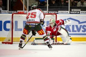 Oscar Alstenfelt lånas ut denna vecka till Leksand i allsvenskan.