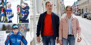 Syskonen Ebba och Fredrik Andersson. Foto: TT/Sanna Svanebo