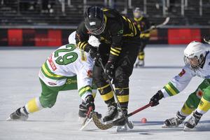 AIK:s damlag spelade SM-final förra året. I år åkte laget ut i semifinal, samtidigt som herrlaget kvalificerade sig till elitserien. Bild: Janerik Henriksson / TT