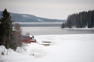 Vy ut mot Storfjärden från Lövvik