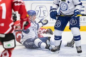 David Rundqvist har inte motsvarat förväntningarna – men Leksand är med i toppen ändå. Foto: Daniel Eriksson / Bildbyrån