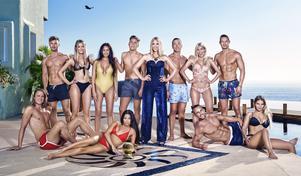 Gruppbild av Paradise Hotel-deltagarna 2018. Bild: TV3