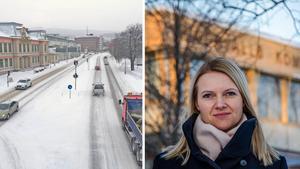 Moderaterna, med Alicja Kapica i spetsen, anser att sista ordet inte är sagt om gamla E4 genom centrala Sundsvall.