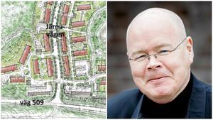 Detaljplanen för Bergtorp har godkänts av kommunstyrelsen med Bob Wållberg i spetsen. Förskolan i området skulle kunna drivas privat, säger han. Bild: DPK / LT
