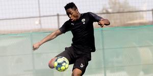 ÖSK-talangen Nadir Ayéva var med på träningslägret i Dubai tidigare i år. Nu lånas 18-åringen ut till Karlslunds IF i division 1.